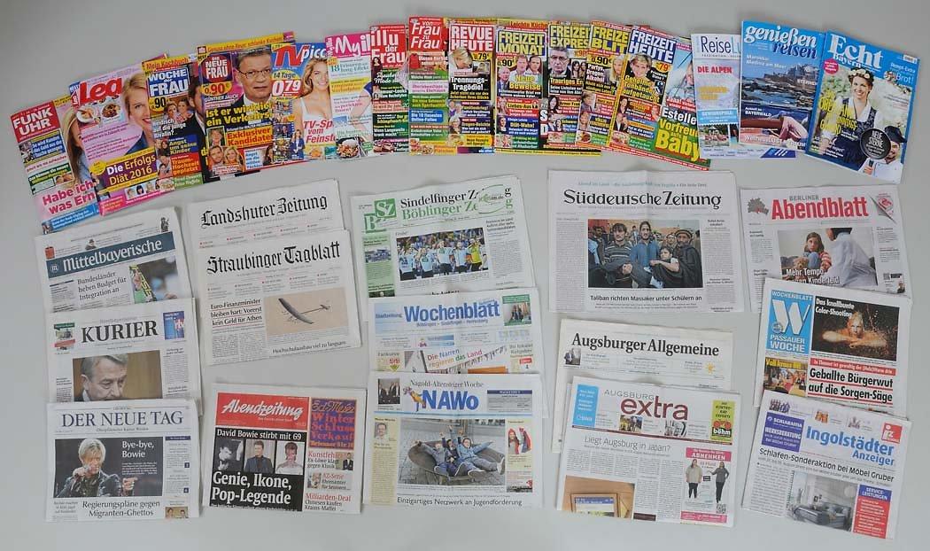 Zeitungswerbung